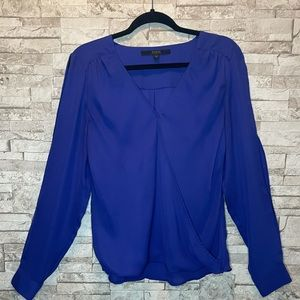 Guess Snap Front Blouse with Arm Slits